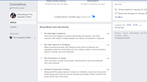rebuild your Facebook group