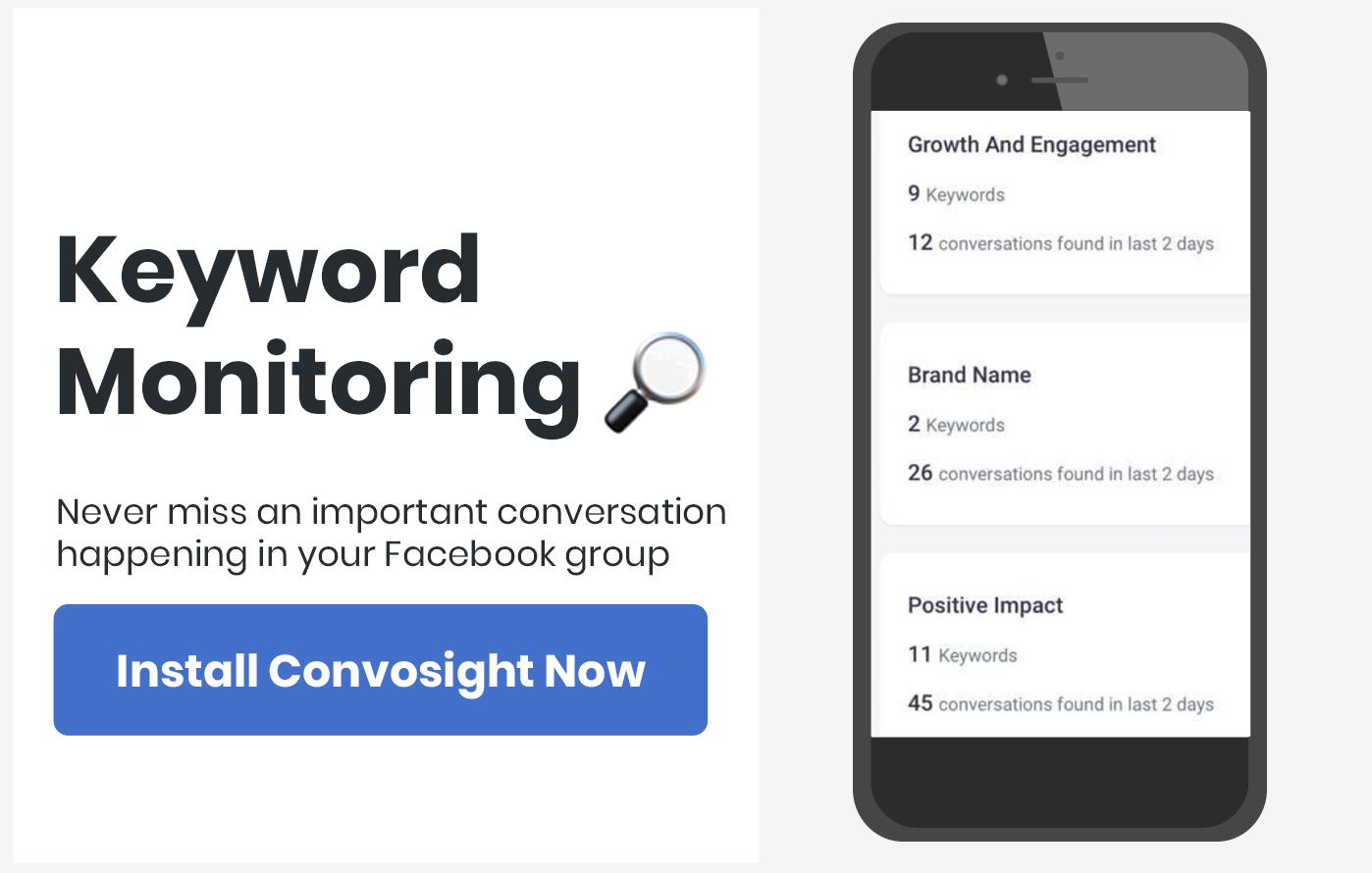 Facebook Group Engagement idea