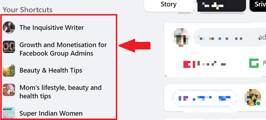 Facebook group insights Engagement