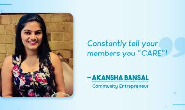 Akansha Bansal - Success Story of Facebook Group
