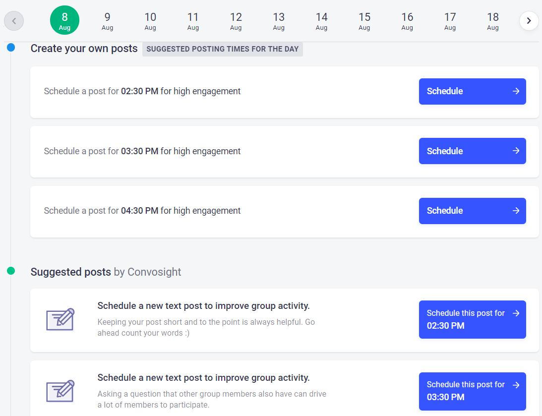 How to get good engagement rate on facebook group