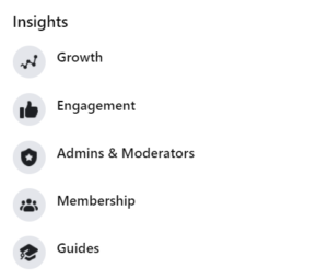 How to Find Insights for a Facebook group
