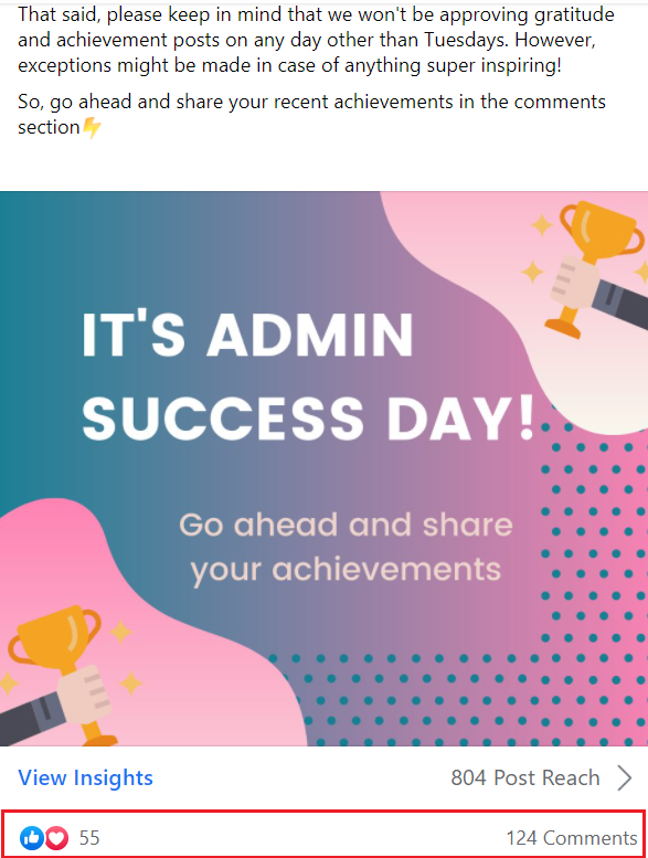 admin success