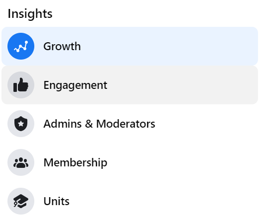 facebook group insights
