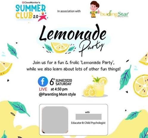 lemonade party 2