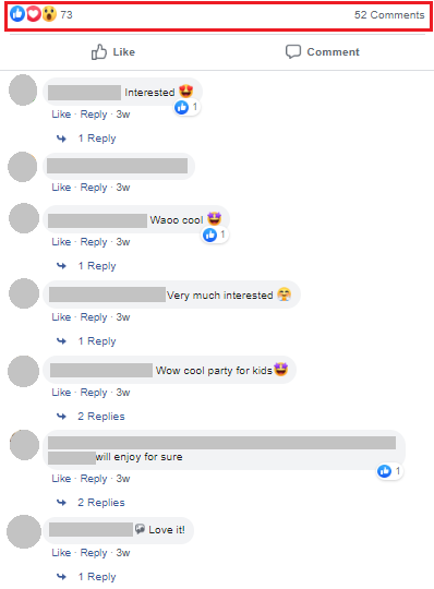 lemonade party comments