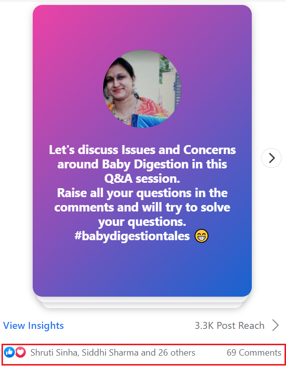 q and a session for facebook group engagement