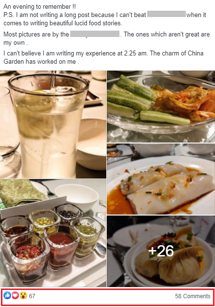 facebook engaging tips for food groups