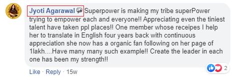 jyoti agarawal superpower