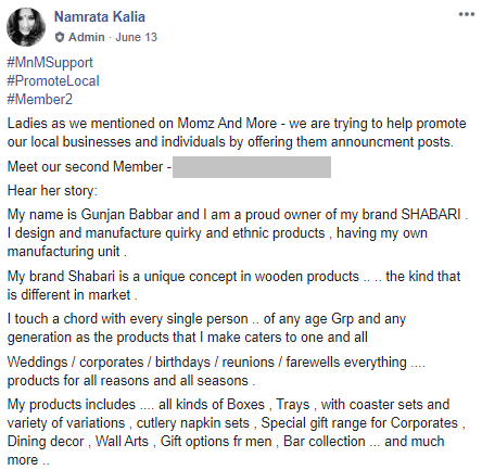 promote local