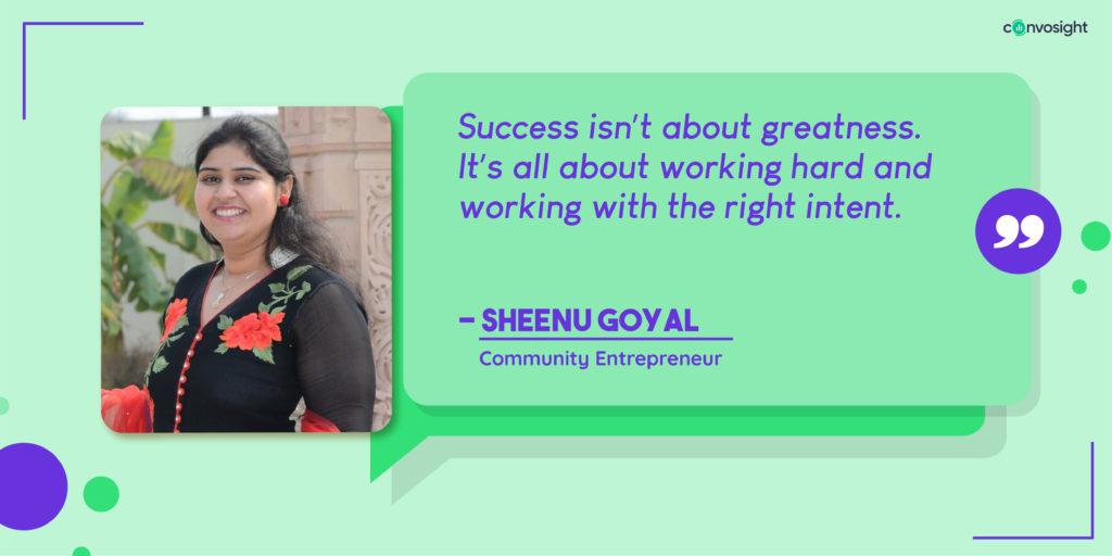 Sheenu Goyal, Facebook group admin, community admin, Facebook group