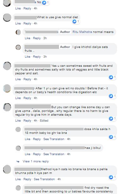 oats comments