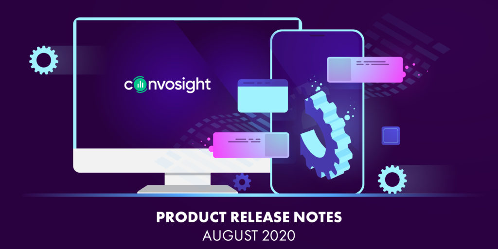 Convosight Release For August 2020