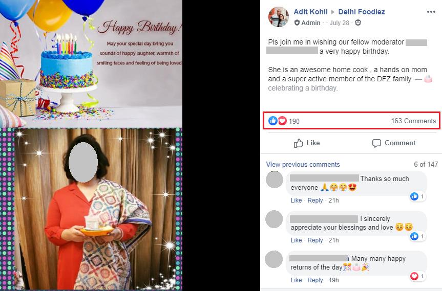 wishing on birthday