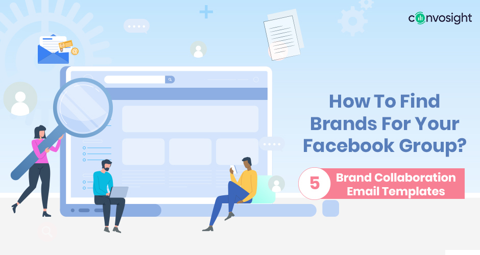 how to find brands for facebook group
