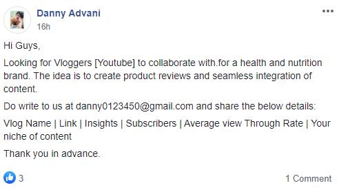 media movements Danny Advani