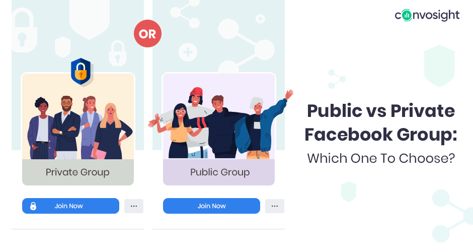 Public And Private Facebook Group