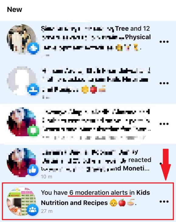 moderation alerts