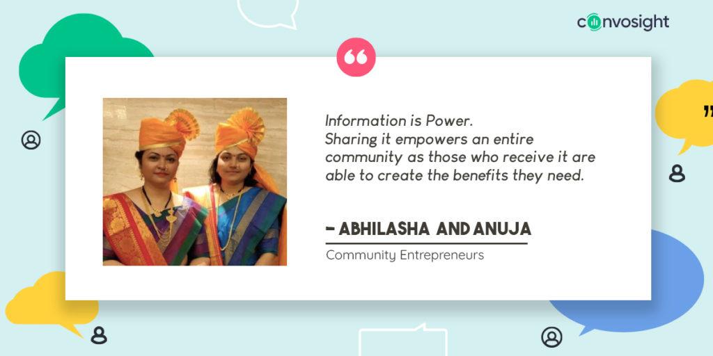 Abhilasha and Anuja Success Story