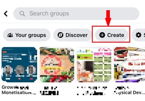 Create a Facebook Group on Mobile