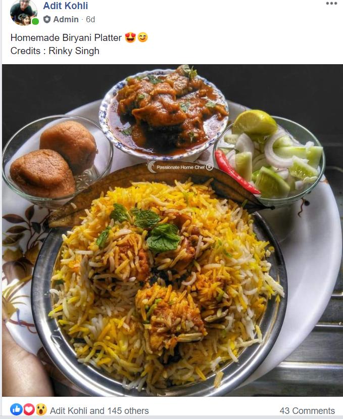 delhi foodiez
