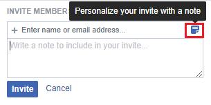 invite member new