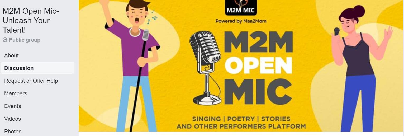 m2m open mic