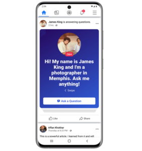 question and answer, ask me anything, Facebook feature, Facebook group feature 2020, new facebook group feature