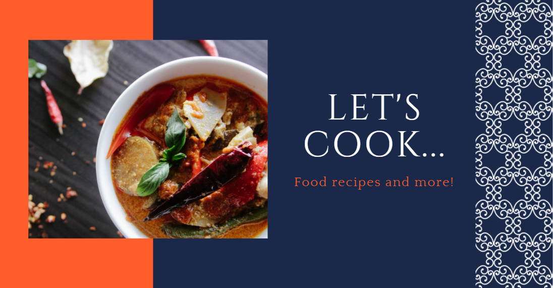 Free Facebook Group Cover Photo Template for Food Group