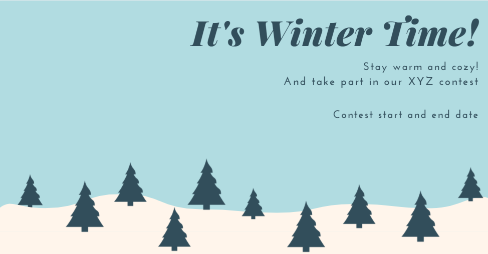 Facebook Cover Photo for Winter