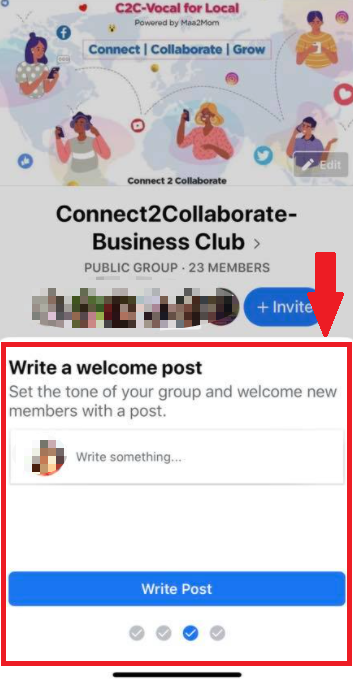 welcome post in public groups new facebook group feature