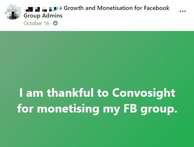 Convosight Thanks