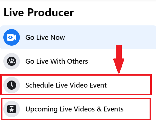 schedule live video (1)