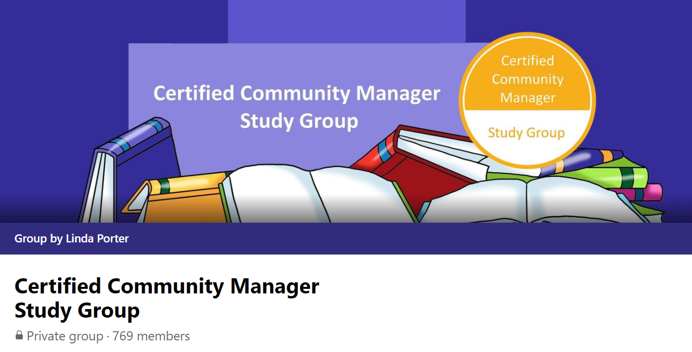 Certified community manager study group