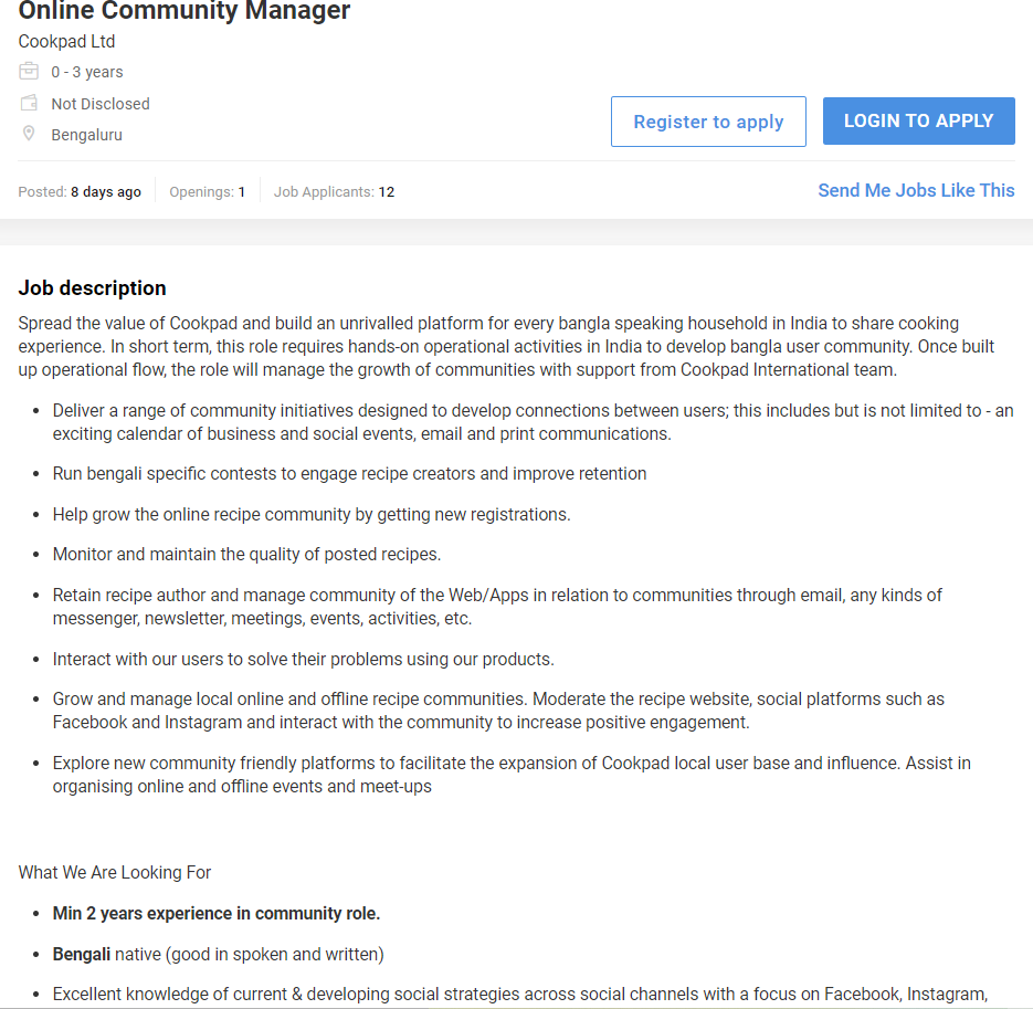 Facebook Community Manager Exam