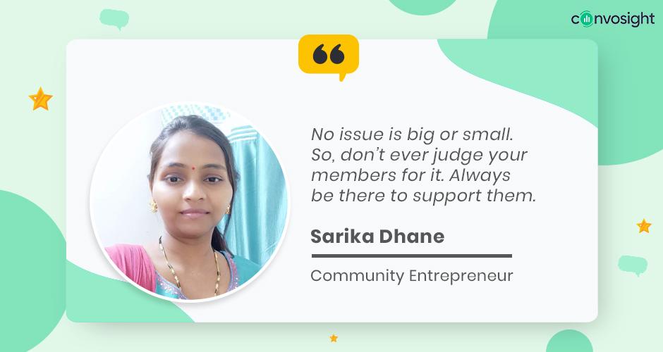 Sarika Dhane - Facebook Admin Success Story LMK
