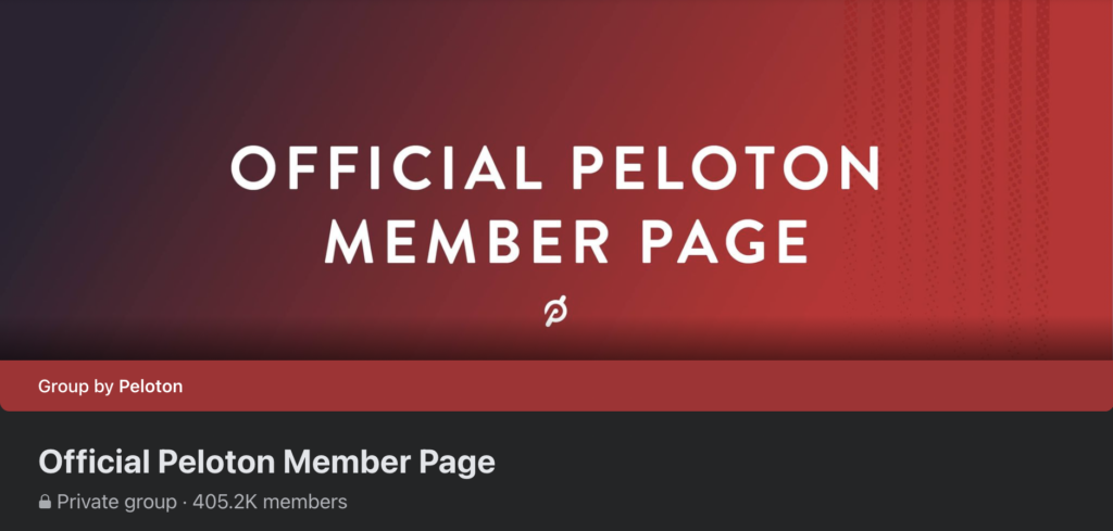 official-peloton-facebook-group-community