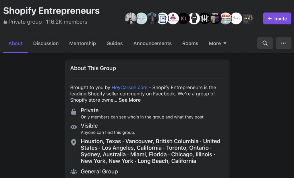 Facebook-Group-Example-Australia