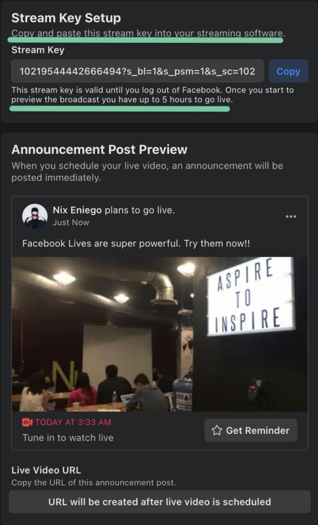 facebook-live-scheduled-stream-keys