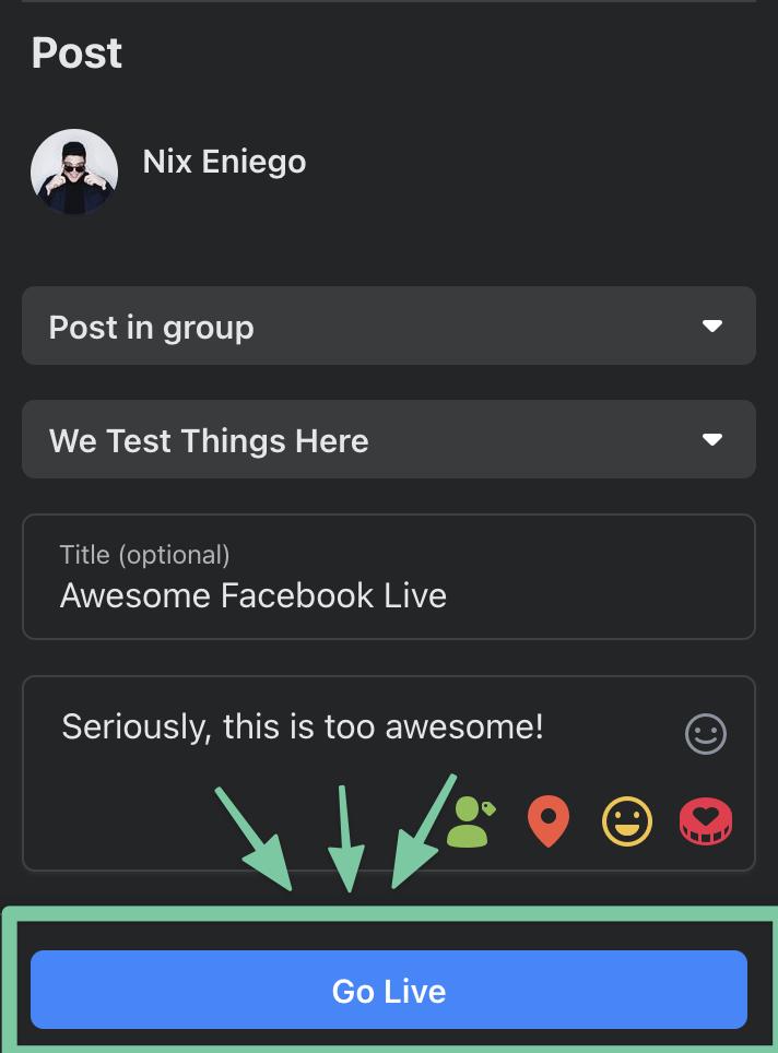 Go-Live-Button-Facebook-Groups