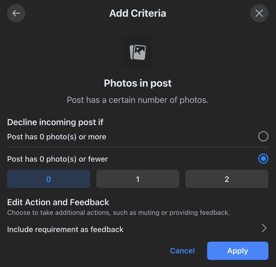 Photos in Post on Admin Assist