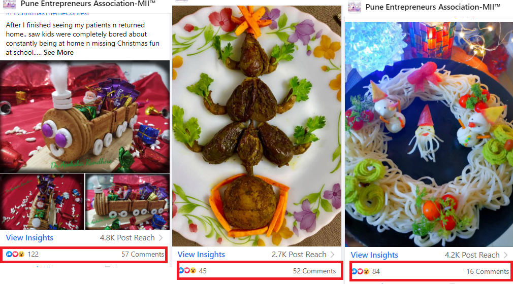 Food Decor Contest