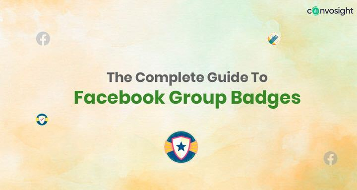 Facebook group badges