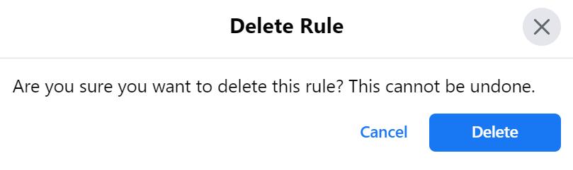 delete rule 1