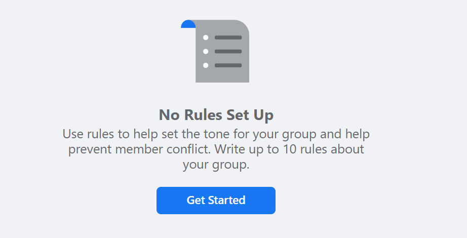get started with rules