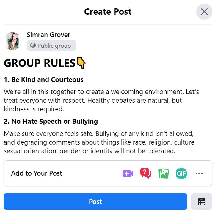 pin rules