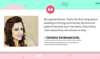 Swadha Shubham Goel - Success Story