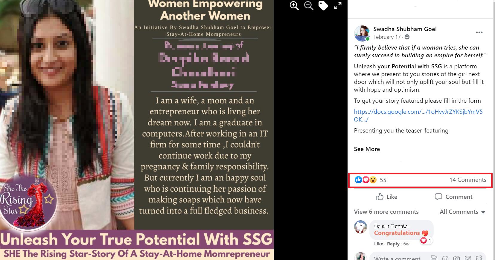 unleash your true potential- Swadha Shubham Goel