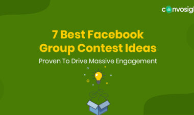 Facebook group contest ideas