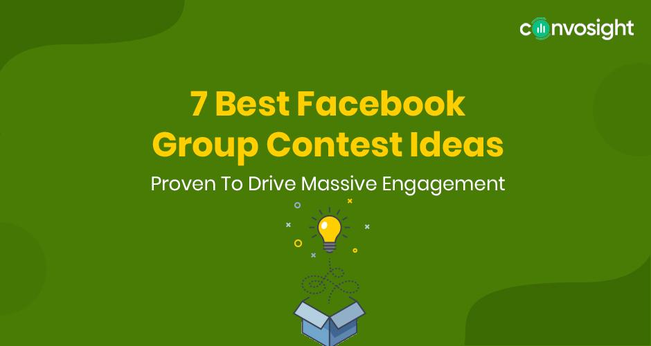 Facebook group contest ideas